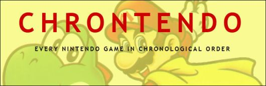 Notables esfuerzos se han logrado por archivar y explicar periodos importantes sobre la historia del videojuego. Tal es el caso de Chrontendo.
